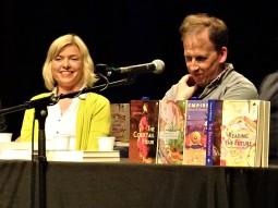 writer danielle mclaughlin & publisher declan meade